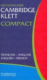 Dictionnaire Cambridge Klett Compact, Francais-Anglais/English-French