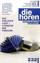 die horen Zeitschrift für Literatur, Kunst und Kritik