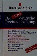 Die neue deutsche Rechtschreibung