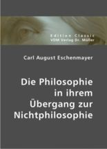 Die Philosophie in ihrem Übergang zur Nichtphilosophie