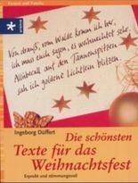 Die schönsten Texte für das Weihnachtsfest