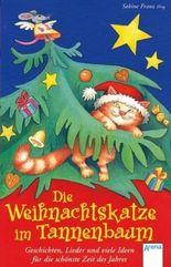 Die Weihnachtskatze im Tannenbaum