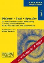 Diskurs · Text · Sprache