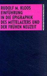 Einführung in die Epigraphik des Mittelalters und der frühen Neuzeit