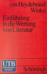 Einführung in die Wertung von Literatur