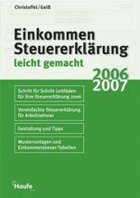 Einkommmenssteuererklärung 2006/2007
