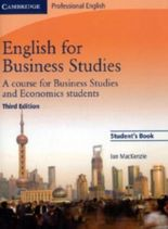 English for Business Studies, Student's Book
