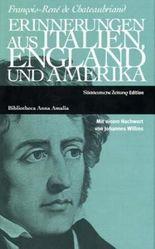 Erinnerungen aus Italien, England und Amerika