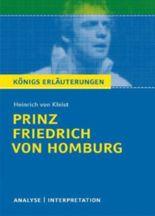 Erläuterungen zu Heinrich von Kleist Prinz Friedrich von Homburg
