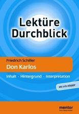 Friedrich Schiller 'Don Karlos'