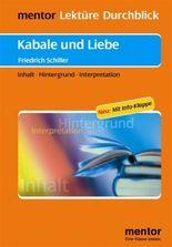Friedrich Schiller: Kabale und Liebe - Buch mit Info-Klappe