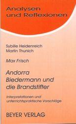 Frisch,Max - Andorra - Biedermann und die Brandstifter