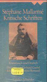 Gedichte. Kritische Schriften, 2 Bde.
