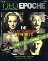 Geo Epoche (mit DVD) / Die Weimarer Republik