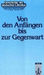 Geschichte der deutschen Literatur - Neubearbeitung