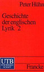 Geschichte der englischen Lyrik. Tl.2