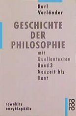 Geschichte der Philosophie mit Quellentexten. Bd.3
