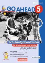 Go Ahead. Ausgabe für sechsstufige Realschulen in Bayern / 5. Jahrgangsstufe - Schulaufgabentrainer mit Lösungen