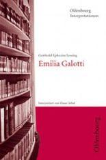 Gotthold Ephraim Lessing, Emilia Galotti