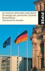 Grundzüge des politischen Systems Deutschlands