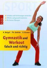 Gymnastik und Workout falsch und richtig