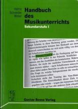 Handbuch des Musikunterrichts