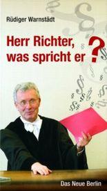 Herr Richter, was spricht er?