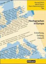 Hochsprachen in Europa