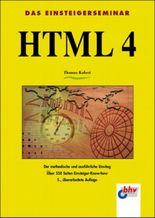 HTML 4. Das Einsteigerseminar