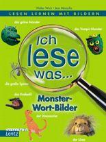 Ich lese was ... - Monster-Wort-Bilder