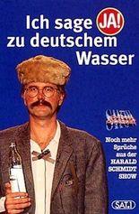 Ich sage 'ja!' zu deutschem Wasser