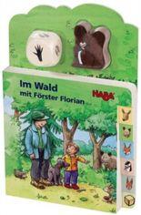 Im Wald mit Förster Florian (Rahmenpuzzle), m. Holzwürfel u. -figur