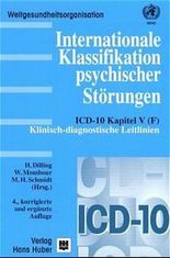 Internationale Klassifikation psychischer Störungen, Klinisch-diagnostische Leitlinien