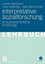 Interpretative Sozialforschung