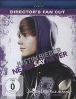 Justin Bieber - Never Say Never, Director's Fan Cut, 1 Blu-ray