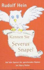 Kennen Sie Severus Snape?