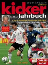 Kicker Fußball-Jahrbuch 2006/2007, m. DVD