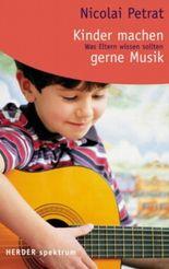 Kinder machen gerne Musik