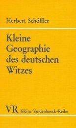 Kleine Geographie Des Deutschen Witzes