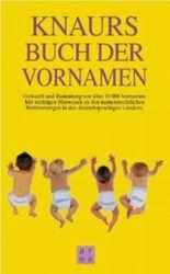Knaurs Buch der Vornamen