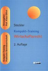 Kompakt-Training Wirtschaftsrecht