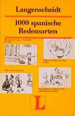 Langenscheidt 1000 spanische Redensarten