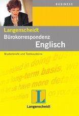 Langenscheidt Bürokorrespondenz Englisch