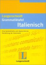 Langenscheidt Grammatiktafel Italienisch - Falttafel