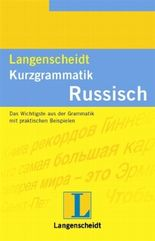 Langenscheidt Kurzgrammatik Russisch