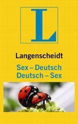 Langenscheidt Sex-Deutsch/Deutsch-Sex
