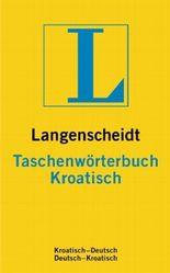 Langenscheidt Taschenwörterbuch Kroatisch