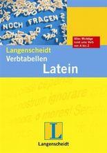 Langenscheidt Verb-Tabellen Latein