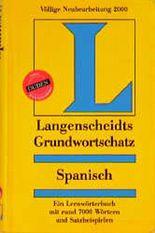 Langenscheidts Grundwortschatz Spanisch.