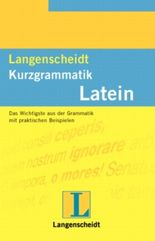 Langenscheidts Kurzgrammatik, Latein